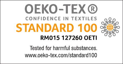 textile certification logo